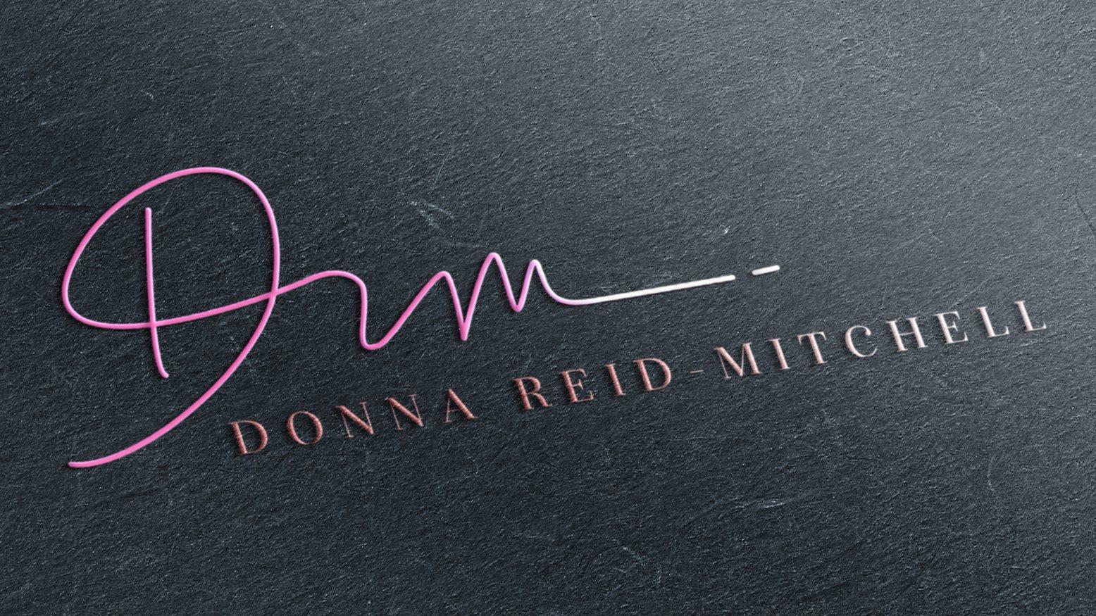 logo design, donna reid mitchell, branding