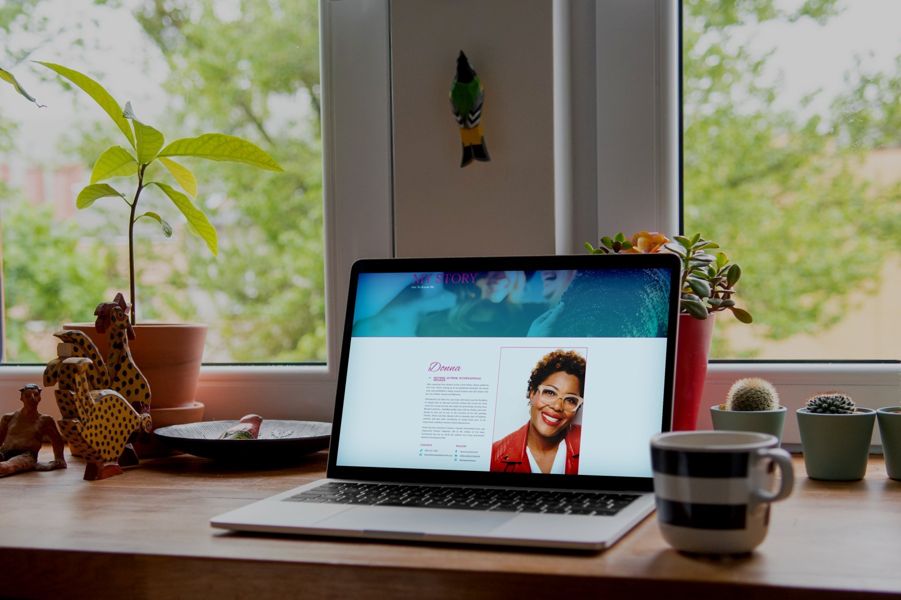 donna reid mitchell, connect media agency design, case study